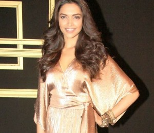 Deepika at her annual party