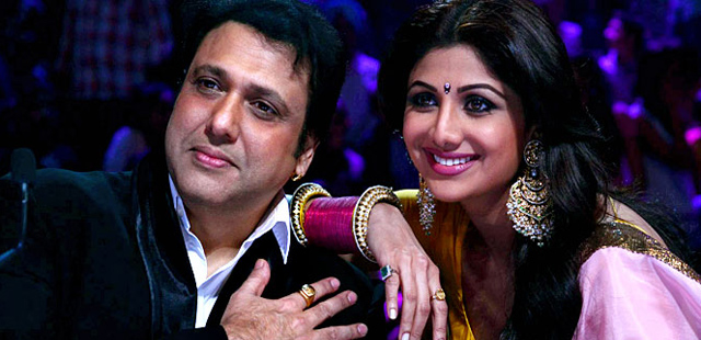 Govinda and Shilpa