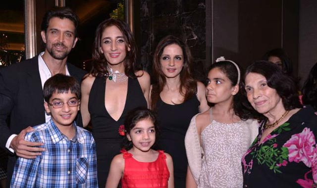 Hrithik-Suzanne and family