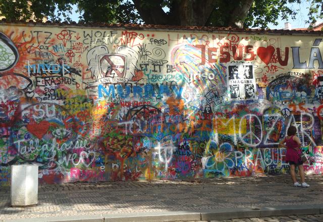 John Lennon Wall, Prague