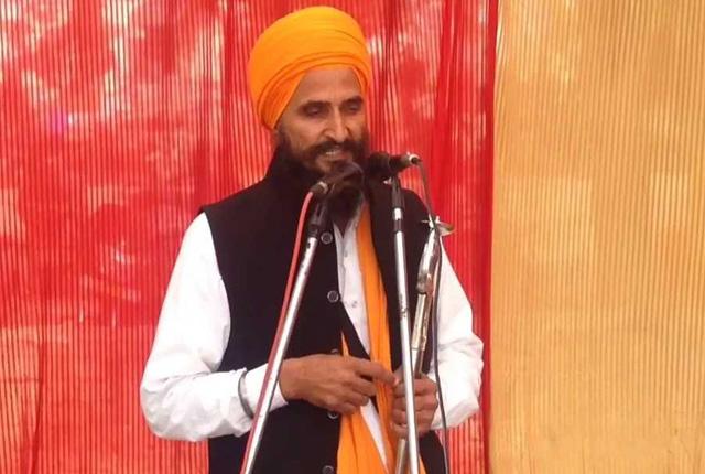Sikh leader Gurbaksh Singh Khalsa