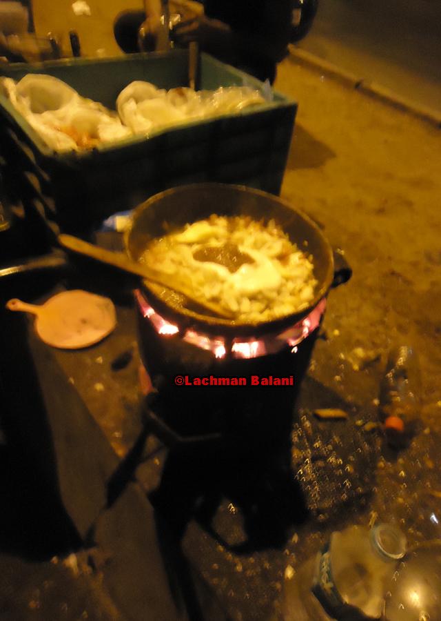 Street omelettes