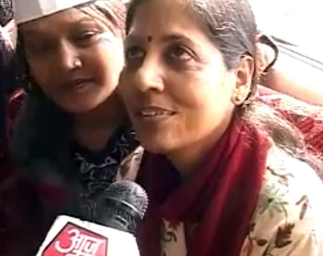 Mrs Kejriwal says Arvind is hard working and passionate, son says Papa is great