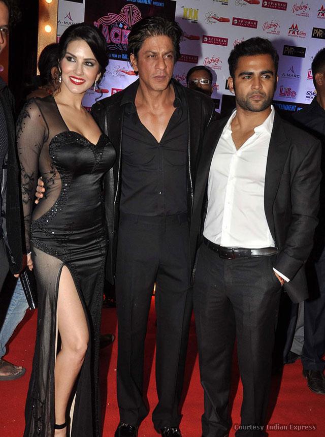 Sunny with Shahrukh