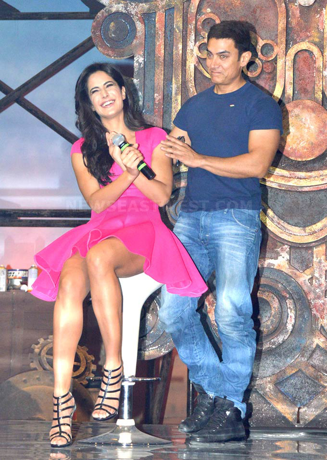 Aamir Khan with his fantasy called Katrina