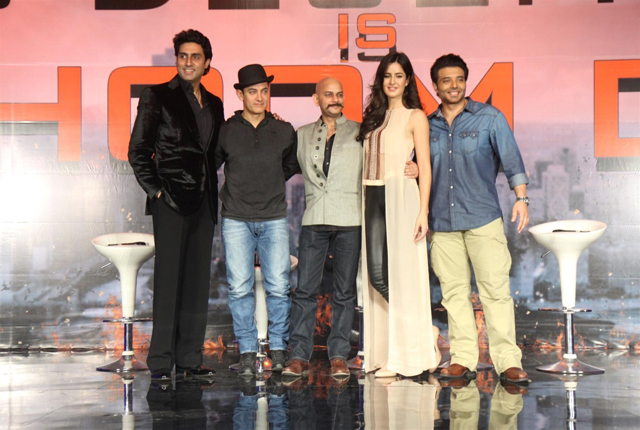dhoom 3 team