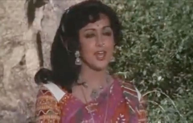 Hema as Basanti in Sholay