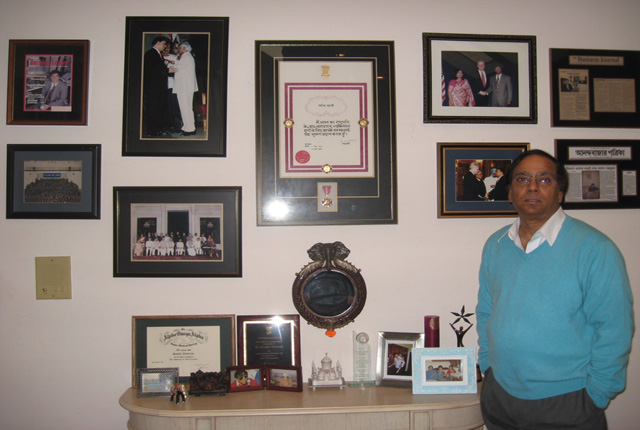 First Padma Bhushan Indian American Swadesh Chatterjee