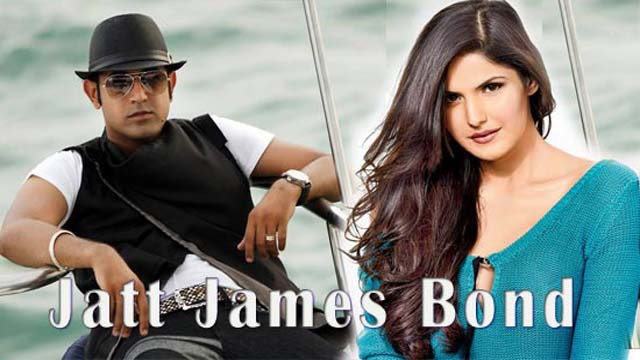Zarine and Gippy Grewal in jatt james bond