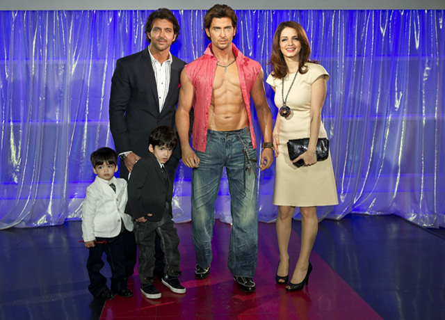 hrithik and suzanne with kids