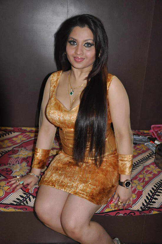 Bollywood item girl Misti Mukherjee