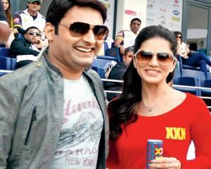 Kapil Sharma and Sunny Leone
