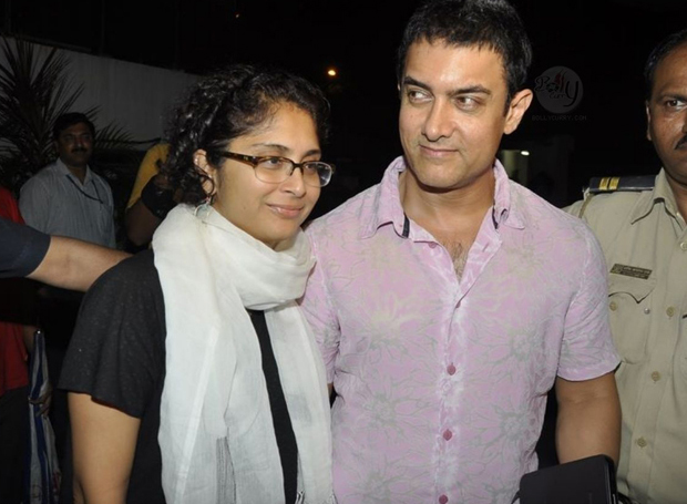 Kiran Rao and Aamir