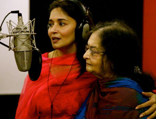 madhuri dixit singer