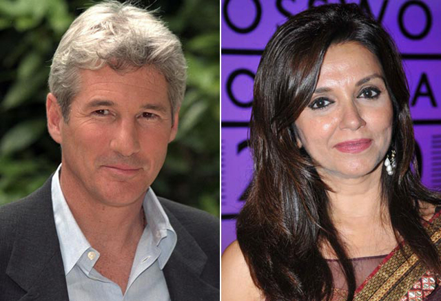 Richard Gere enjoys Indian food in Udaipur, wants Bollywood song in his film