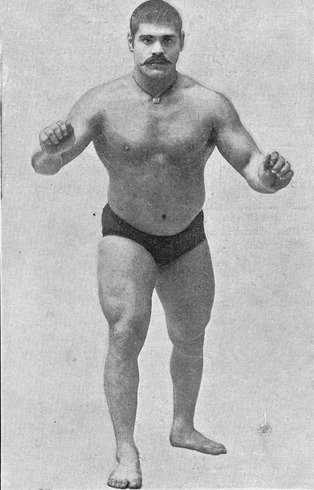 Gama wrestler