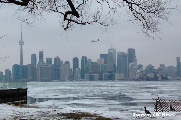 Toronto in deep freeze