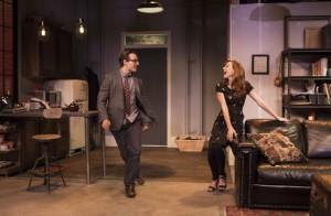 Adrian Marchuk and Elodie Gillett in a scene. Photo by Cylla von Tiedemann