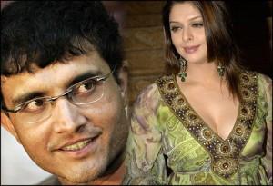 Nagma and Sourav Ganguly