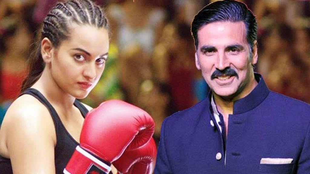Sonakshi Sinha in her new avatar
