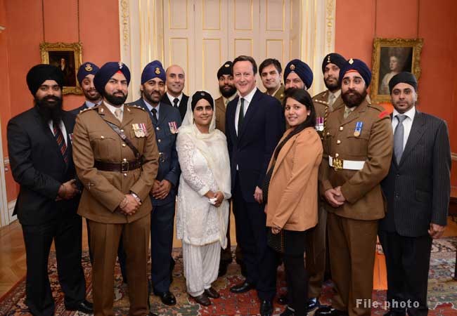 Prime Minister David Cameron hosts Vaisaki reception.