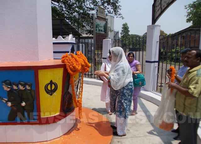 Komagata Maru Budge Budge memorial