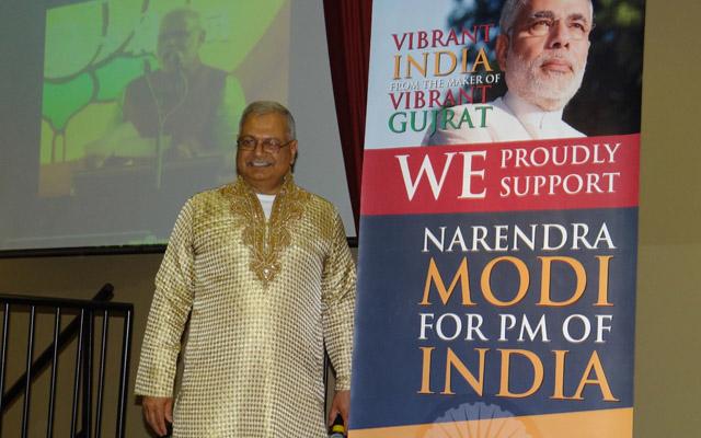 NaMo gathering organizer Laj Prasher