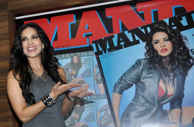 Sunny Leone Mandate magazine