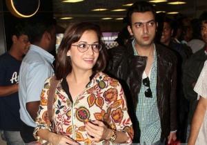 Dia Mirza with Sahil Sangha
