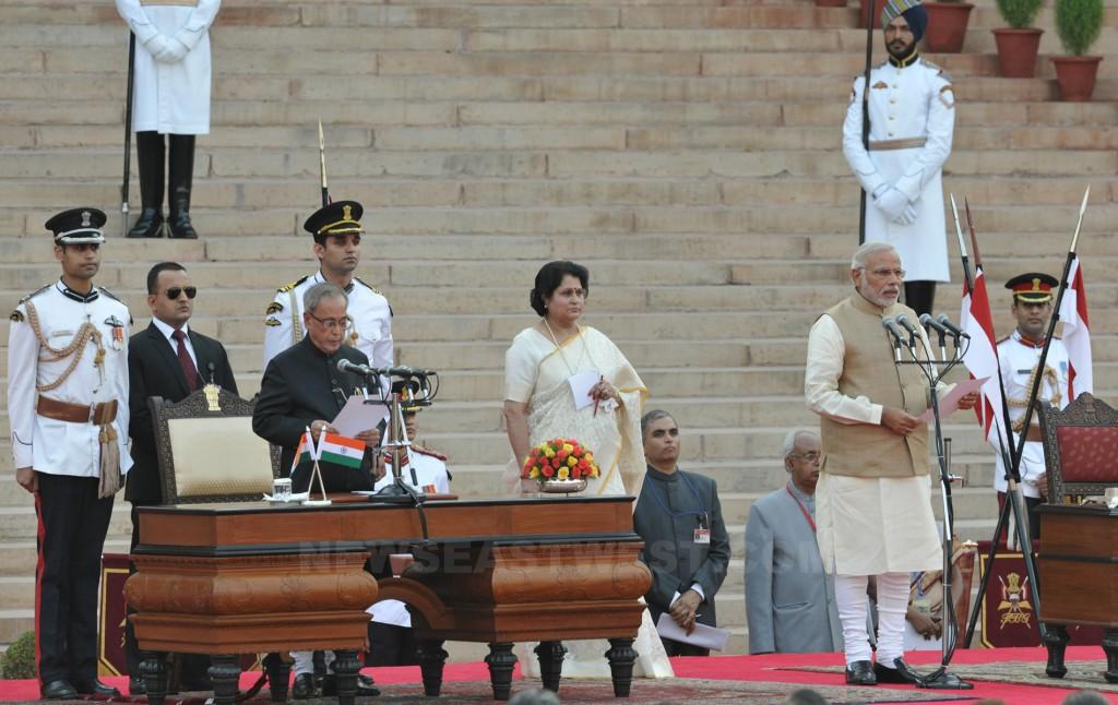 Narendra Modi takes oath as PM of India