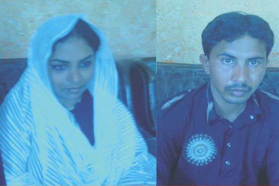 Pratima Sahoo with her Pakistani husband