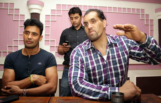 Khali and Sangram Singh to start Wrestling Premier League in India