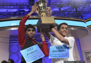 Scripps National Spelling Bee 2014 champions