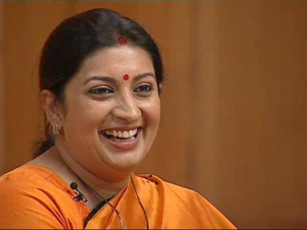 Political storm over qualifications of HRD minister Smriti Irani