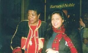Writer Surekha Vijh (right) with Maya