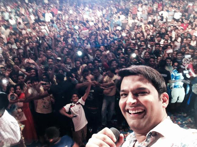 Kapil Sharma rescues 2-year girl lost in concert crowd in Surat