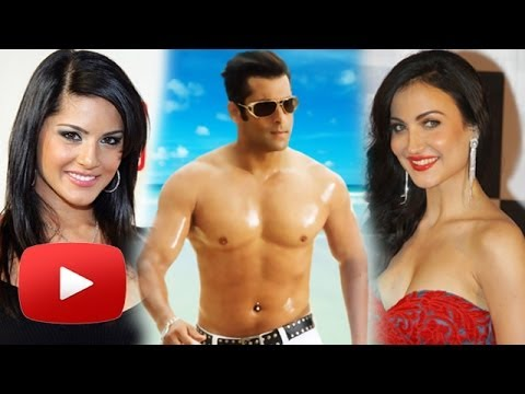 Sunny Leone, Elli Avram in Salman's No Entry Mein Entry?