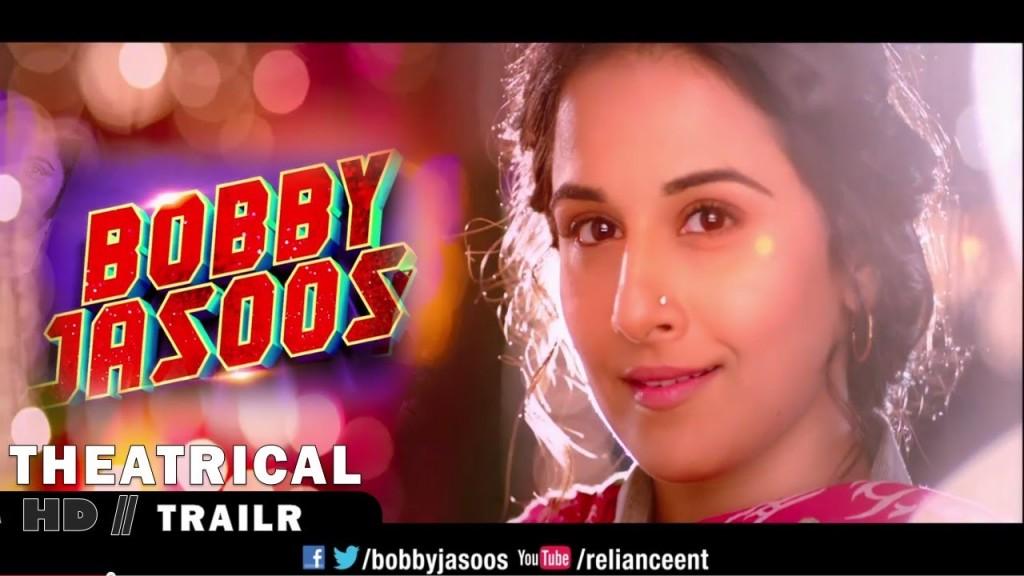 Vidya Balan in 12 new avatars in Bobby Jasoos