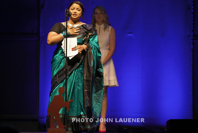 Indo-Canadian actress Anusree Roy wins Dora Award for her play Sultans of the Street