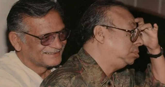 Gulzar remembers his funny moments with R D Burman