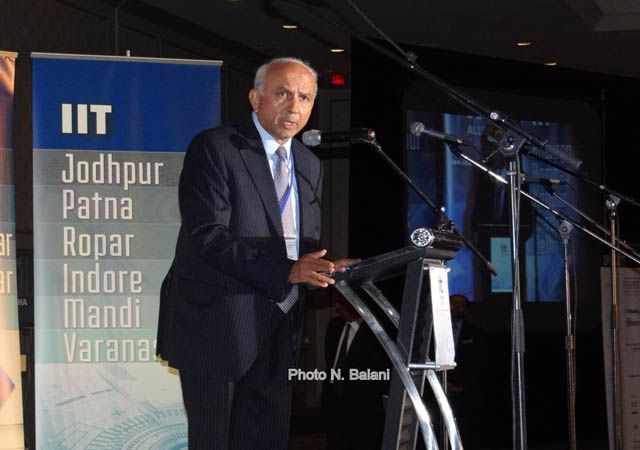 Indo-Canadian billionaire  Prem Watsa, founder & CEO Fairfax Holdings, was the keynote speaker.