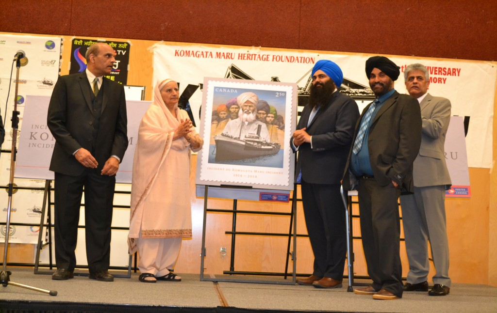 Tributes to Komagata Maru heroes in Vancouver3