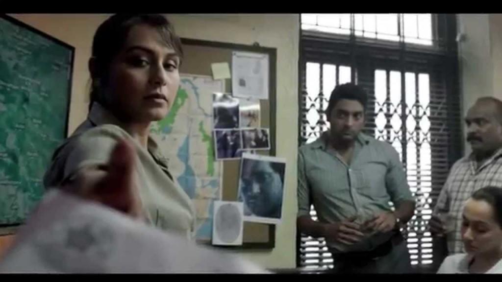Rani as tough cop in Mardaani
