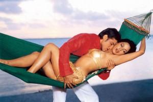 Mallika Sherawat in a bold scene