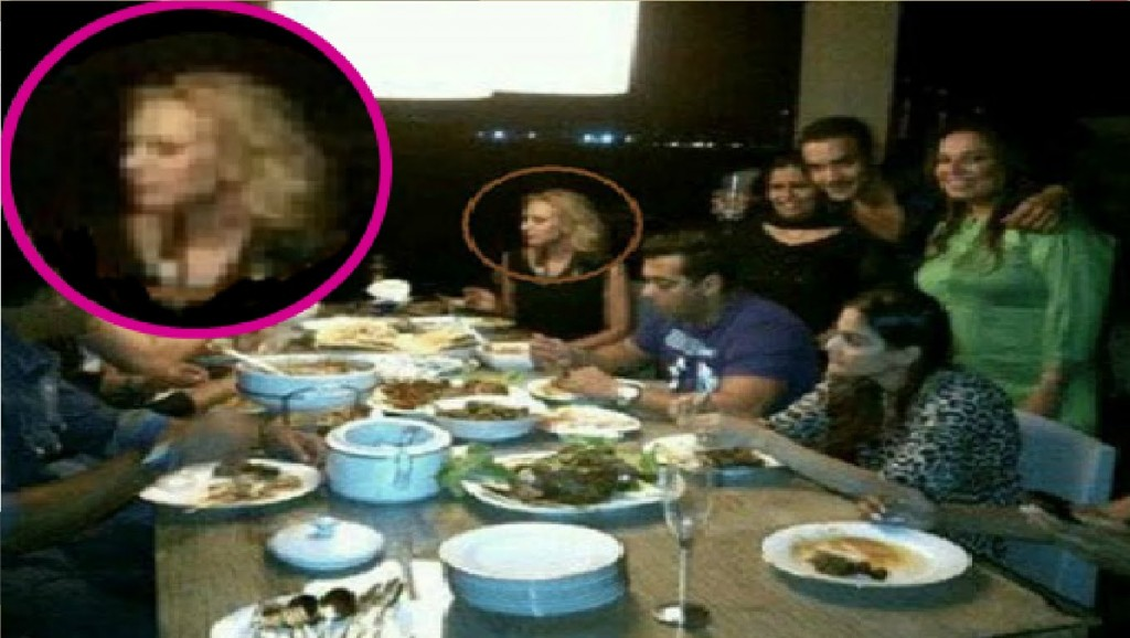 Salman and Lulia spotted togther again
