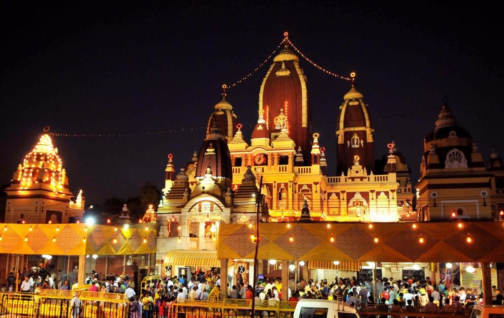 Krishna  Janmashtami at Birla Temple Delhi
