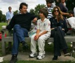 Imran Khan with Jemima and son