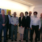 Punjabi leaders with Vancouver Airport officials