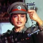Rekha as a cop