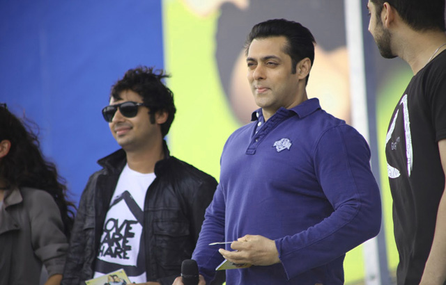 Salman Khan promotes Dr Cabbie in Toronto